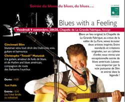 Ticket culture : Blues with a feeling SPECTACLE COMPLET