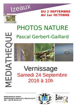 Expo photos sur la nature