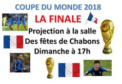 Projection de la finale