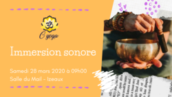 Yoga et immersion sonore